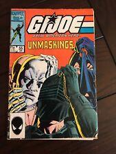 GI Joe A Real American Hero #55 January 1987 Marvel