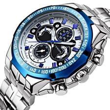 Montre Sport Luxe Top Marque WWOOR Homme Bracelet Métal Fashion Men watch PROMO