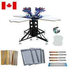 Micro Registration 4 Color Screen Printing Package Practise Materials Print Kit