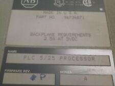 Allen Bradley 1785-lt2 a Plc-5/25 Processore Modulo P/N 9696736871 Firmware F