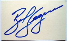 BOB SEAGREN 1968 OLYMPIC POLE VAULT GOLD MEDAL WINNER ORIGINAL INK AUTOGRAPH