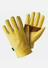 Briers Ultimate Premium Golden Leather Gardening Gloves size Medium
