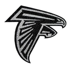 Atlanta Falcons Licensed Sparkle Bling Emblem Decal