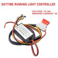 DRL 12V Car LED Daytime Running Light Lamp Bulb Relay Harness On/Off Controller