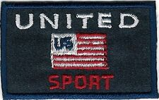"1.75"" American Sport US Flag Embroidery Patch"
