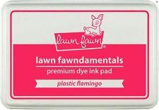 "Lawn Fawn ""Fawndamentals"" Premium Dye Ink Pad~ Plastic Flamingo Bright ~Lf1030"