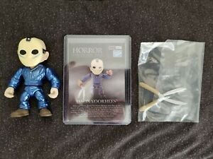 THE LOYAL SUBJECTS JASON VOORHEES METALLIC 1/96 HOT TOPIC EXC HORROR COLLECTOR