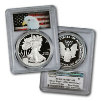 2016-W Silver Eagle PCGS PR70 DCAM Lettered Edge 30th Anniversary