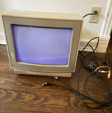 Commodore 1802 Video Monitor With Cables