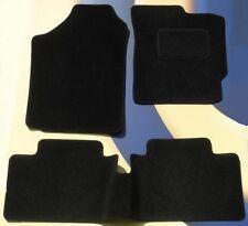 HONDA CIVIC SALOON & TYPE R 2000-2006 3 DOOR MODEL VELOUR BLACK CAR FLOOR MATS B