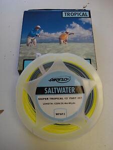 Airflo Sniper Tropical Saltwater Permit Bonefish Tarpon Sailfish Fly Line 7-15wt
