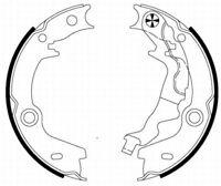 Mintex Rear Brake Shoe Set MFR656  - BRAND NEW - GENUINE - 5 YEAR WARRANTY