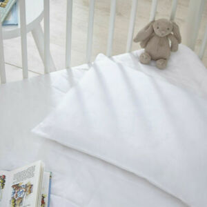 Cot Bed Pillow Hollow fiber Nursery Baby Toddler Junior New Pillows Anti Allergy