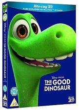 THE GOOD DINOSAUR 3D [Blu-ray 3D + 2D] Disney Pixar Movie Combo Pack w Slipcover