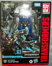 Transformers Dark of the Moon Studio Series Deluxe Class Topspin #63 - MISB! NEW