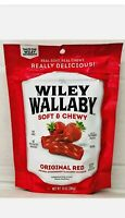 1 Pack Wiley Wallaby -- Original Australian Gourmet Soft & Chewy Red Licorice