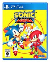 Sonic Mania PS4 Brand New Factory Sealed Sony PlayStation 4 Free Shipping !!!