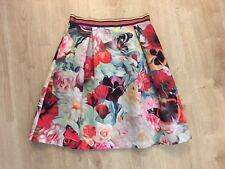 Ted Baker Floral Skirt Size 2 (10) BNWT £139