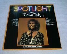 Spotlight On Petula Clark LP 2 Records PRT English Import Downtown Sign Of Times