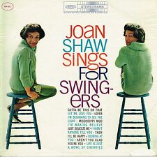 JOAN SHAW sings for swingers U.S. EPIC LP BN-601_orig 1961 RARE jazz vocals