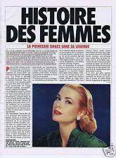 Coupure de presse Clipping 1988 Princesse Grace Kelly  (7 pages)
