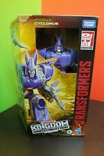Transformers War for Cybertron Kingdom CYCLONUS NEW in Box Takara Tomy HASBRO