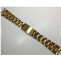 19 MM Unisex Gold Stainless Steel steel Oyster Watch for Rolex Tudor Band L241
