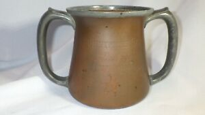 Antique Black, Starr & Frost Copper Loving Cup Trophy SUNNYFIELD CUP 1913