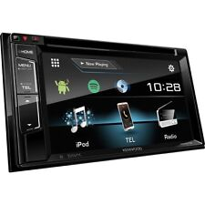 "Kenwood coche/van Cd Dvd Usb Doble Din Estéreo Bluetooth iPod iPhone 6.2"" LCD"