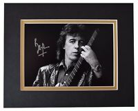 Bill Wyman Signed Autograph 10x8 photo display Rolling Stones Music AFTAL COA