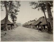 c.1880's PHOTO JAPAN - VIEW OF FUJIYAMA FROM THE TOKAIDO
