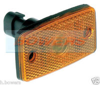 FORD TRANSIT INGIMEX DROPSIDE TIPPER BRITAX AS COBO AMBER SIDE MARKER LAMP/LIGHT