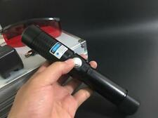 Most Powerful Burning Laser Torch 445nm Focusable Blue Lazer Pointer Burn Match