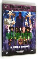 DVD WRESTLING LEGENDS VOL. 3 TOMBSTONE LA STORIA DI UNDERTAKER 2011 RCS WWE