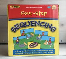 Edupress Four Step Sequencing Learning Game! Sealed Child Development Kids Skill