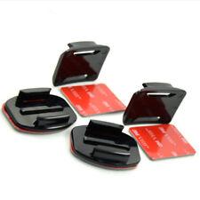 4x Flat & 4x Curved Mounts inc 3M VHB Adhesive Sticky Sticker Pads GoPro Go Pro