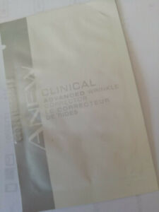 Avon Anew 2 x  CLINICAL ADVANCED WRINKLE CORRECTOR - SAMPLES