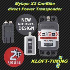 MYLAPS x2 Car/Bike Transpondeur Incl. 2 ans fonction directement Power incl. Zub. Nouveau