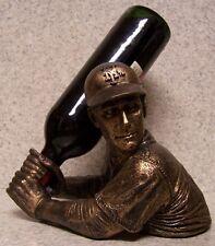 Wine Bottle Holder Bam Vino Sculpture MLB New York Mets Baseball Batter Up NEW