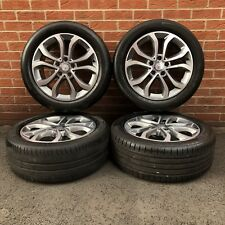 """Mercedes-Benz C Class AMG Line Diamond Cut 17"""" Alloy Wheels And Tyres"""