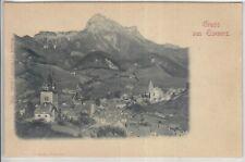 AK Eisenerz, Relief-AK um 1900