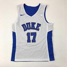New Nike Boy s M Duke Blue Devils Reversible Basketball Jersey Blue White   17 4a128b4fb
