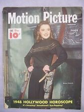 MOTION PICTURE MAGAZINE JANUARY 1948 HOLLYWOOD HOROSCOPE BARBARA STANWYCK