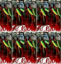 20 x FOX RAGE PIKE SPINNERS SIZE 5 7.82g FIRETIGER RED FEATHER NSP039 fire tiger