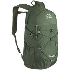 Highlander Venture Day Sack 20L Outdoor Hiking Travel Bag Pack Backpack Olive