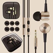 Ear Cuffie Auricolari Con Mic + Remoto Per Palestra Jogging Sport mp3 metallo in