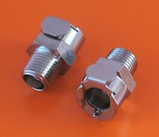 DUCATI 748/916  FUEL PUMP CONNECTOR Q/R  THREAD -CPC ORIGINAL METAL/PAIR UPGRADE