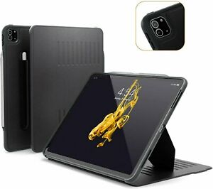 "ZUGU Case Alpha for Apple iPad Pro 2020 12.9"" Gen 4 Slim Cover Stand - Black"