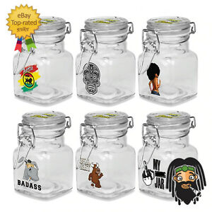 Juicy Jay's Airtight Stash Storage Jars - Smell Proof Storage Containers