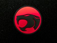 Thundercats LOGO 3D PVC Rubber Loop&Hook Patch